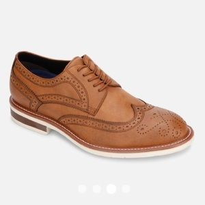 🆕 Kenneth Cole Klay Lace Up Flex Wing Tip Brouge
